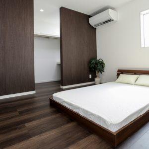 モデルハウス寝室写真