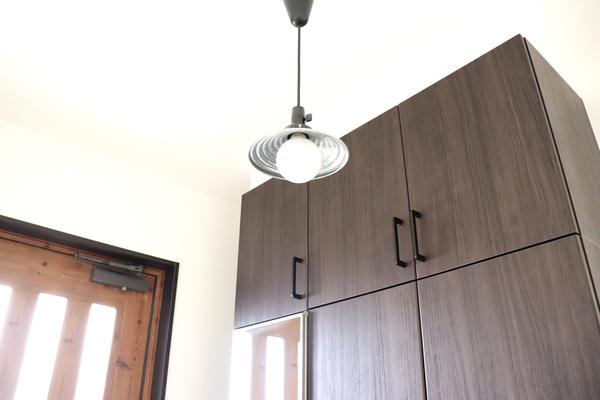 玄関照明 施工事例