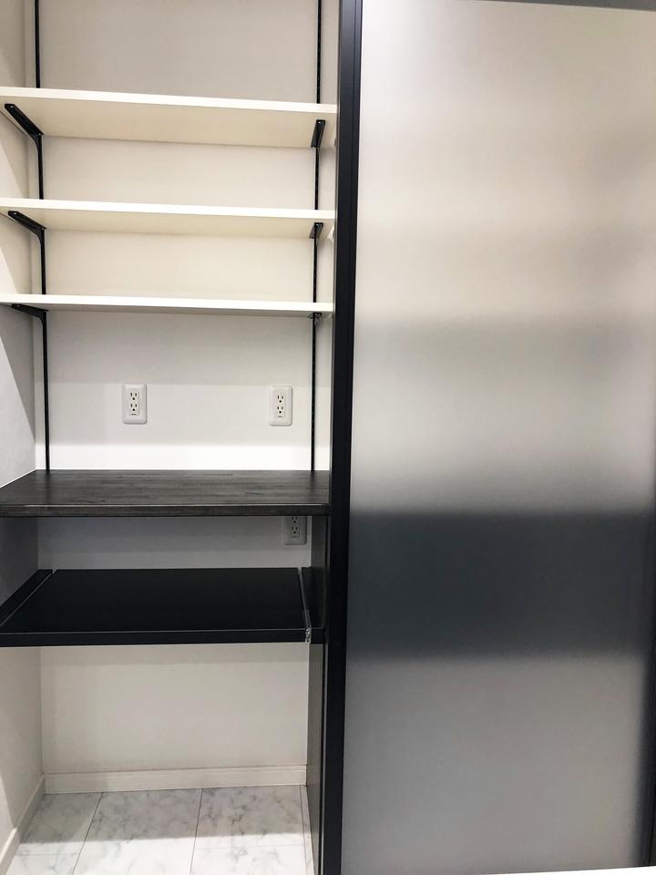 造作食器棚 施工事例のサムネイル