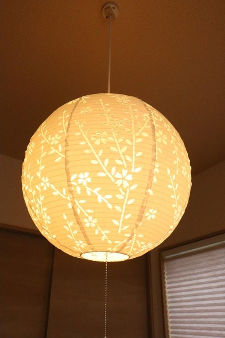 和室照明 施工事例のサムネイル