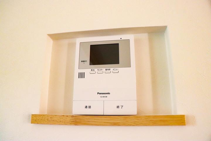 インターフォンモニター 施工事例のサムネイル