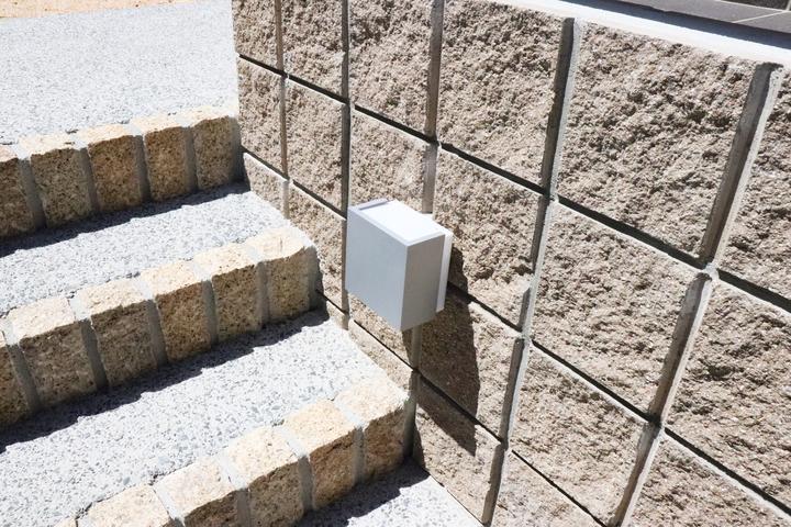 外階段照明 施工事例のサムネイル