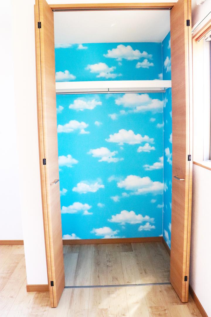 子供部屋 クローゼット施工事例のサムネイル