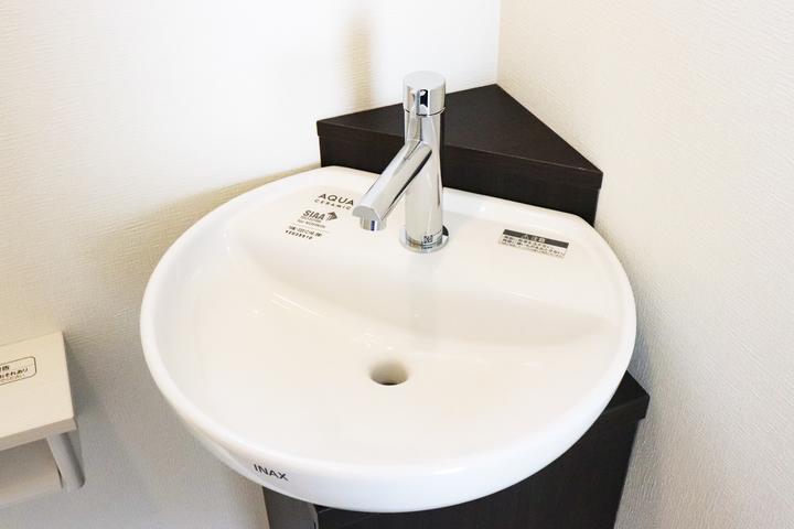 トイレ手洗い 施工事例のサムネイル