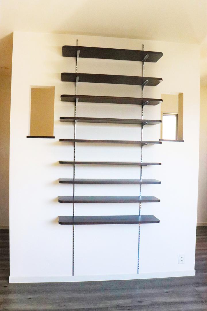 収納飾り棚 施工事例のサムネイル