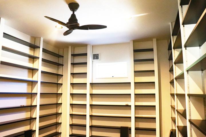 本棚 施工事例のサムネイル
