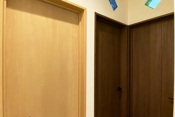 子供部屋ドア 施工事例