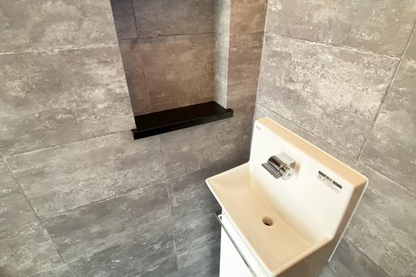 トイレ手洗い 施工事例