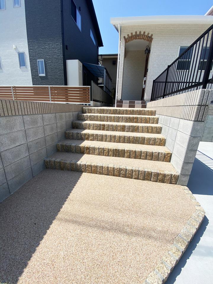 外階段 施工事例のサムネイル