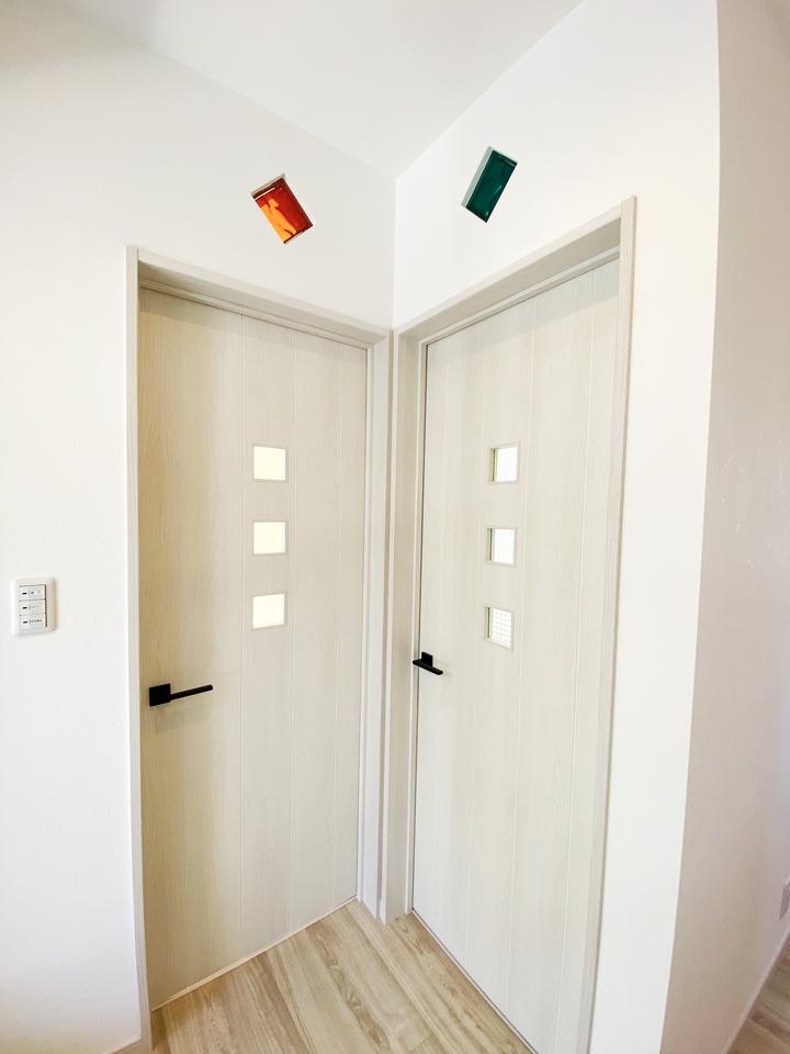 子供部屋ドア 施工事例のサムネイル