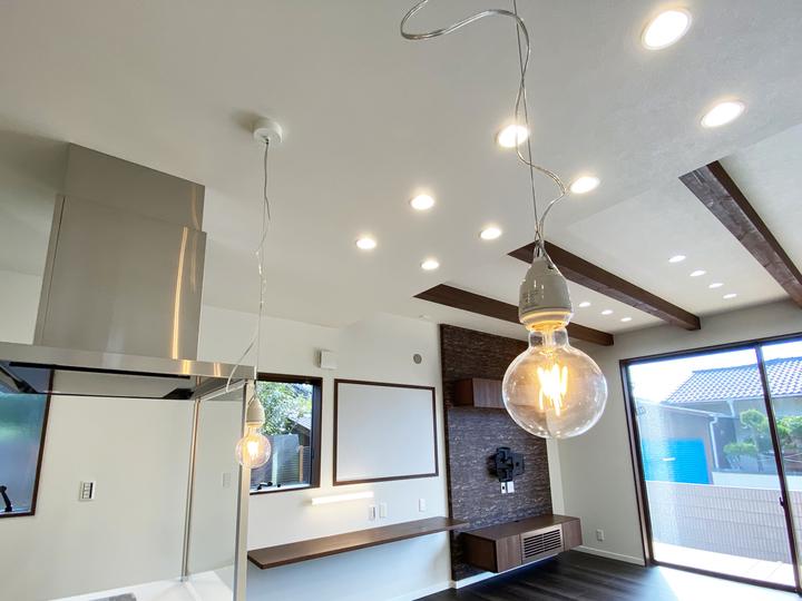 キッチン照明 施工事例のサムネイル