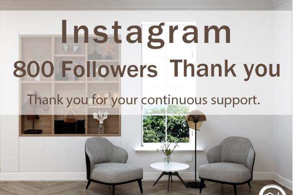 Thank you 800 Followers…