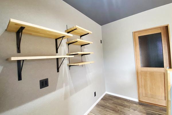 キッチン造作棚 施工事例