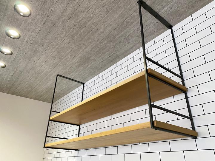 造作キッチン収納 施工事例のサムネイル