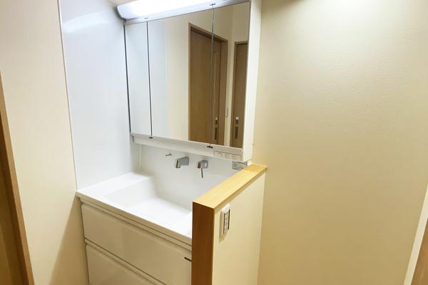 洗面化粧台 施工事例