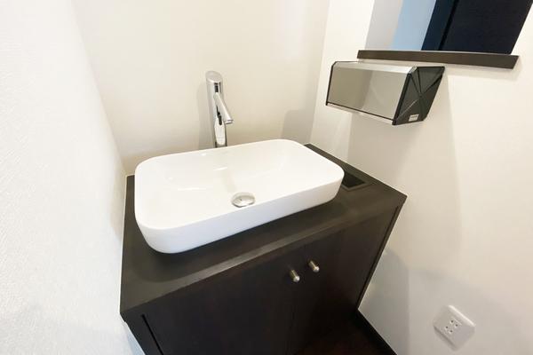 エントランス手洗い 施工事例