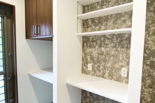 キッチン収納 施工事例