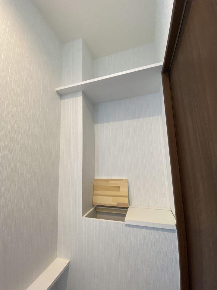 トイレ収納 施工事例のサムネイル