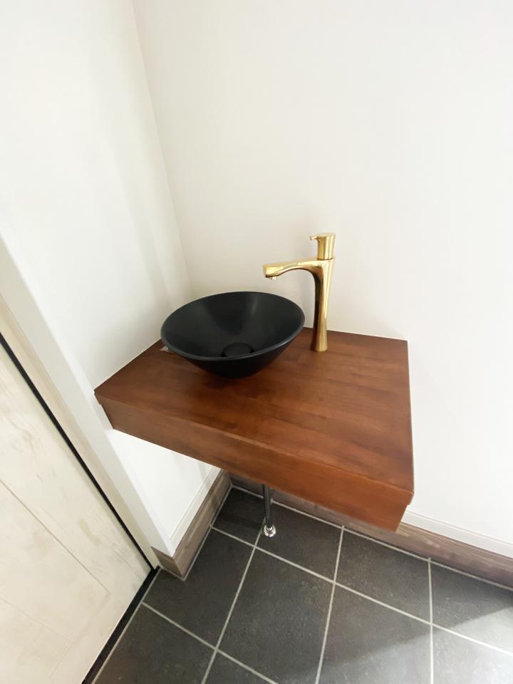 玄関手洗い 施工事例のサムネイル