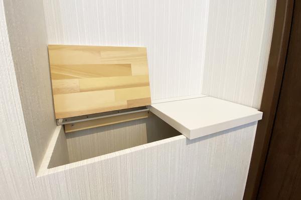 トイレ収納 施工事例