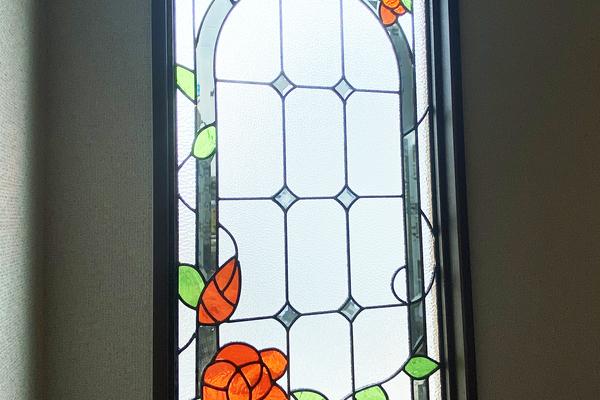ステンドグラス窓 施工事例